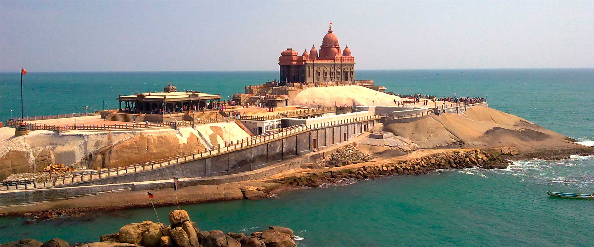 Vivekananda memorial rock temple